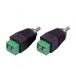 3S-RCA05 RCA разъем с зажимными контактами.